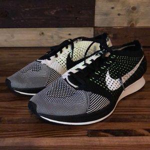 Nike Flyknit Racer Running Shoes 'Neon Knit'